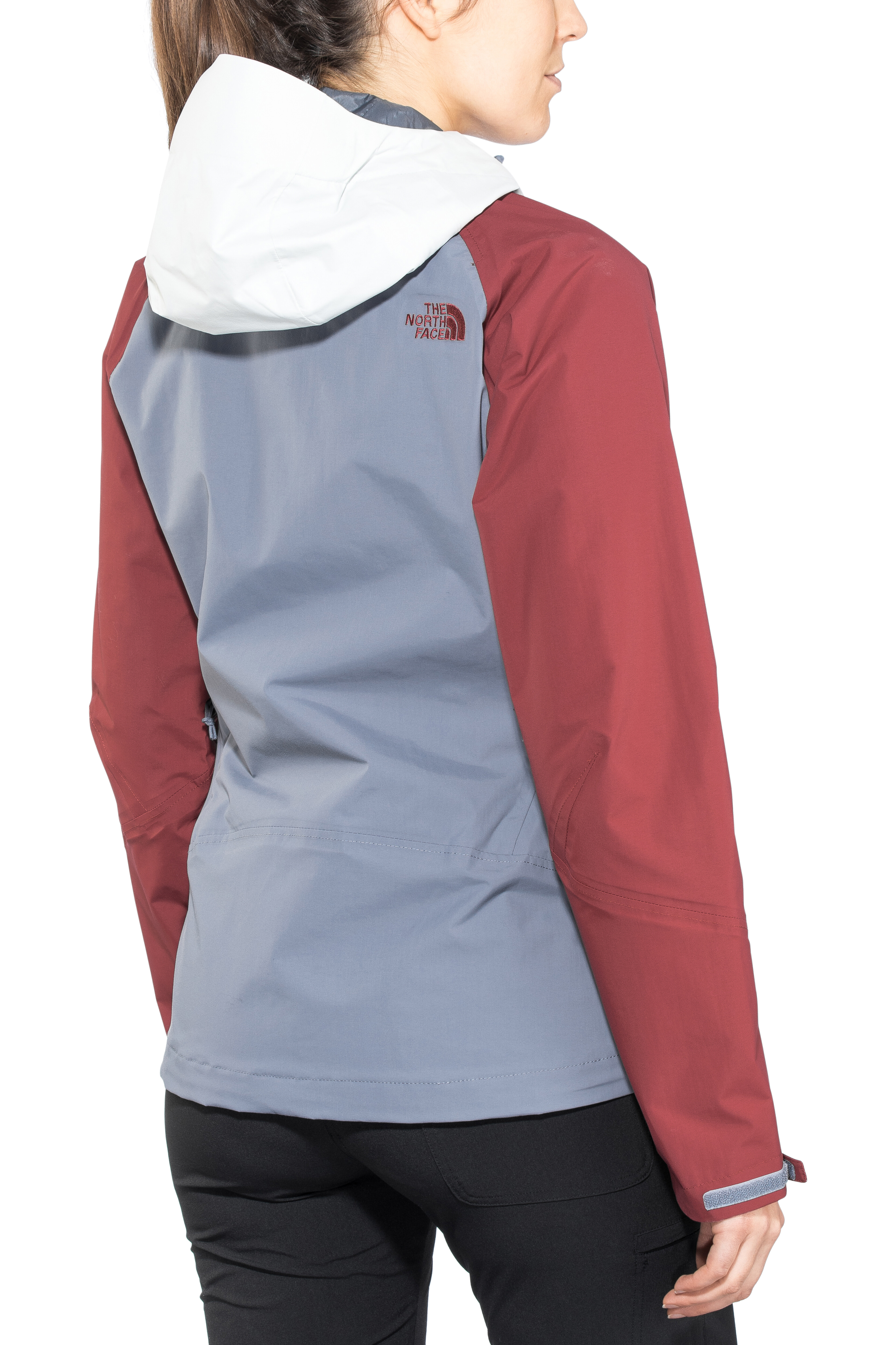 2fbe33a738 The North Face Stratos - Veste Femme - gris/rouge sur CAMPZ !